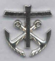 Cross and Anchors medallion